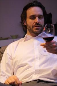 Vad innehåller ett vin egentligen? (Bild från vinprovning hos Foodpassion