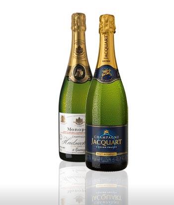 Champagne till Jul och Nyår