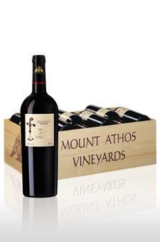 Mount Athos i trälåda