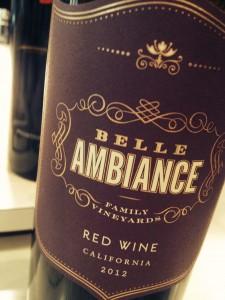bella ambiance label