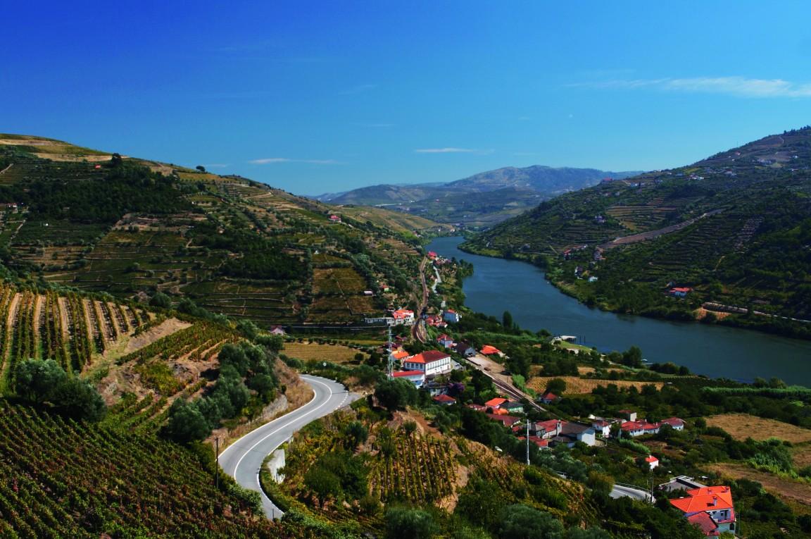 Utsikt över floden Douro