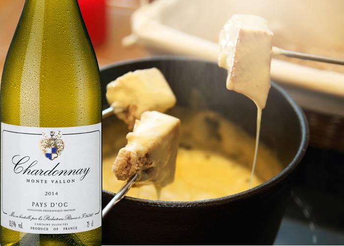 Månadens vin och ostfondue