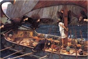 John William Waterhouse: Odysseus och sirenerna