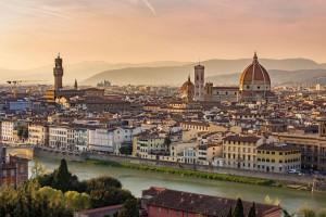 Florens blev en rik stad tack vare de goda skördarna i det omgivande landskapet.  Copyright: istock.com