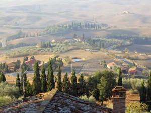 Hänförande utsikt i Toscana. Copyright: istock.com