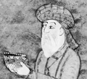 Hafiz der persische Dichter Bild Wikimedia Commons 300x272
