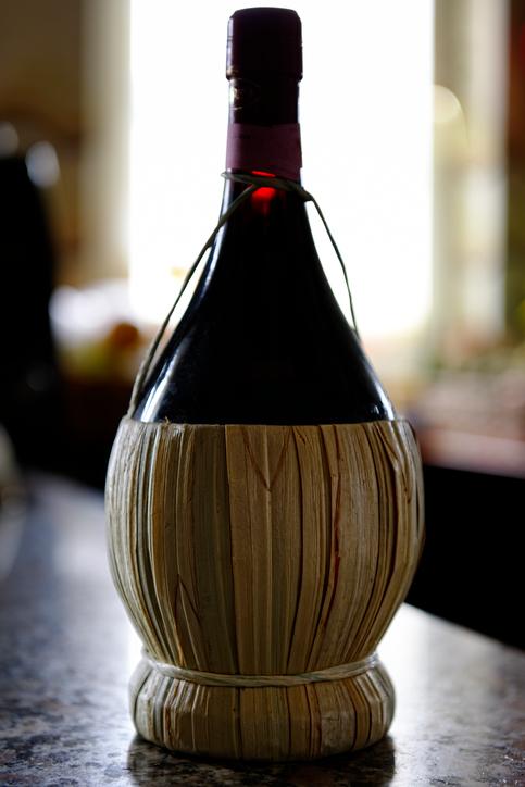 Wine Bottle - Chianti