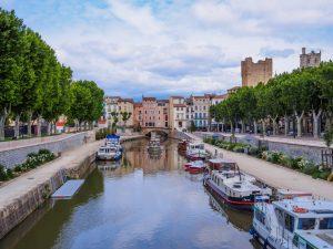 Robine-kanalen i Narbonne